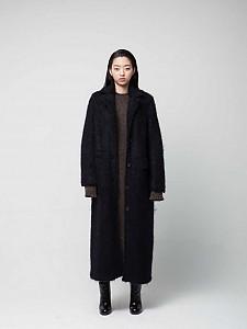 Hairy long coat