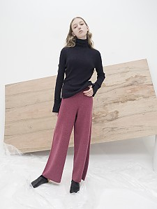 M7WP01A [Seamless Knit Trousers] 무봉제  D/ PINK