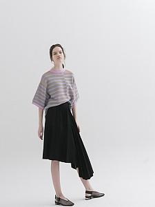 Multicolor Stripes Boxy Pullover