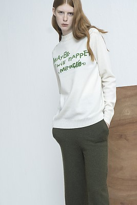 M8FT05A	LETTERING pullover